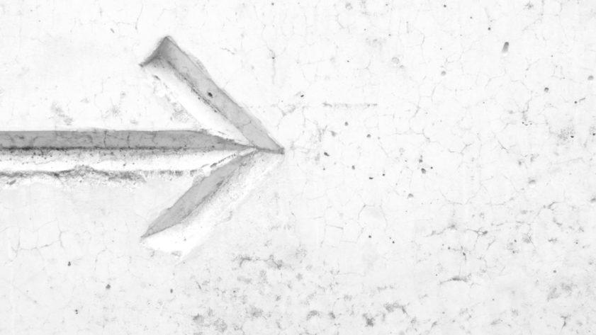 new direction arrow